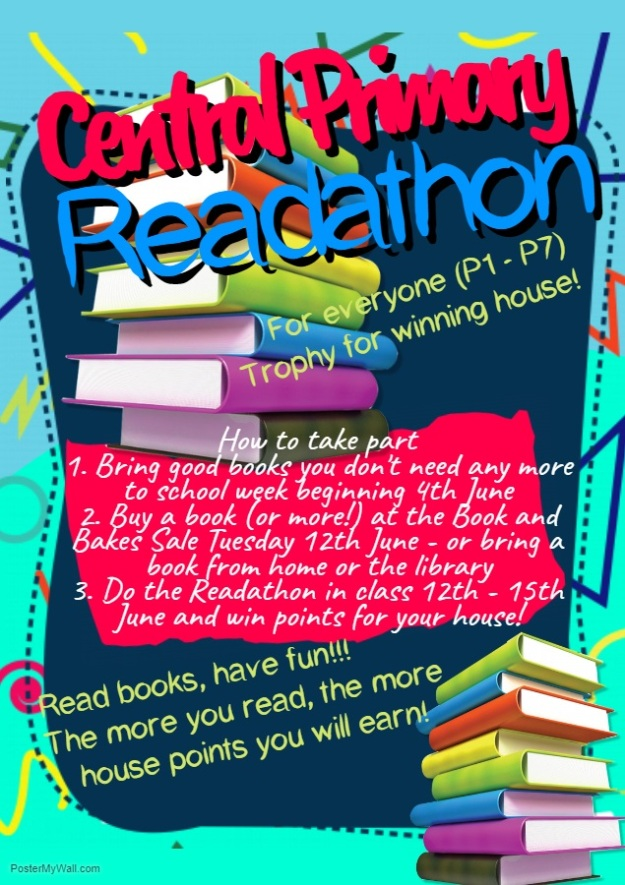 Readathon Poster