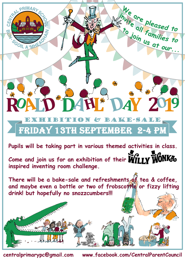 Roald Dahl Day FB