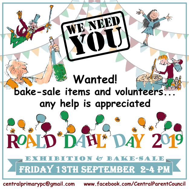 Roald Dahl Day - Wanted FB